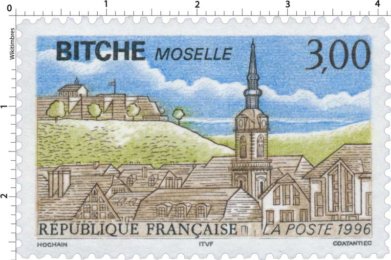 1996 BITCHE MOSELLE