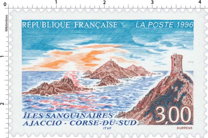 1996 ÎLES SANGUINAIRES AJACCIO - CORSE-DU-SUD