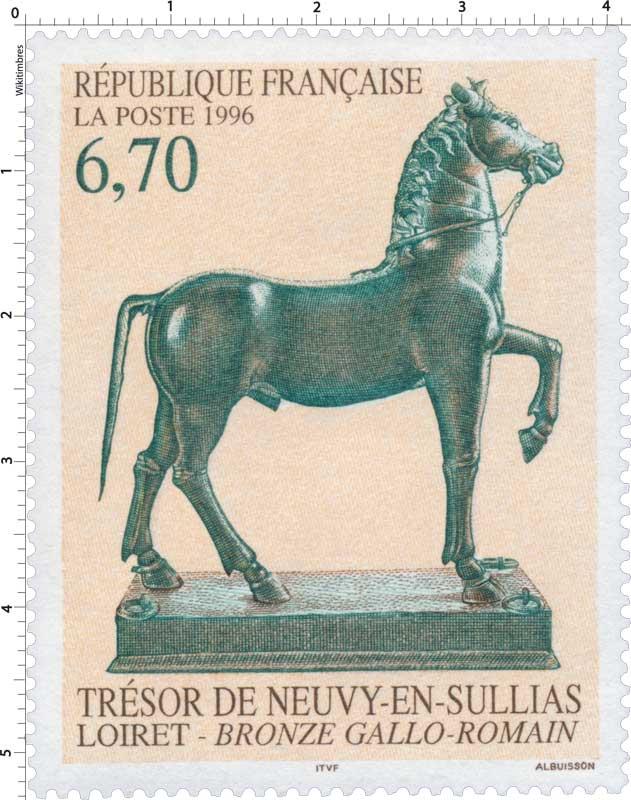 1996 TRÉSOR DE NEUVY-EN-SULLIAS LOIRET - BRONZE GALLO - ROMAIN