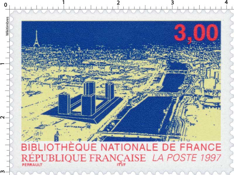 1997 BIBLIOTHÈQUE NATIONALE DE FRANCE