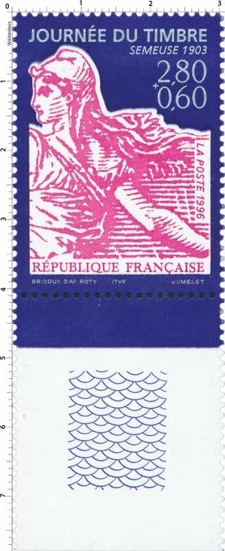1996 JOURNÉE DU TIMBRE SEMEUSE 1903