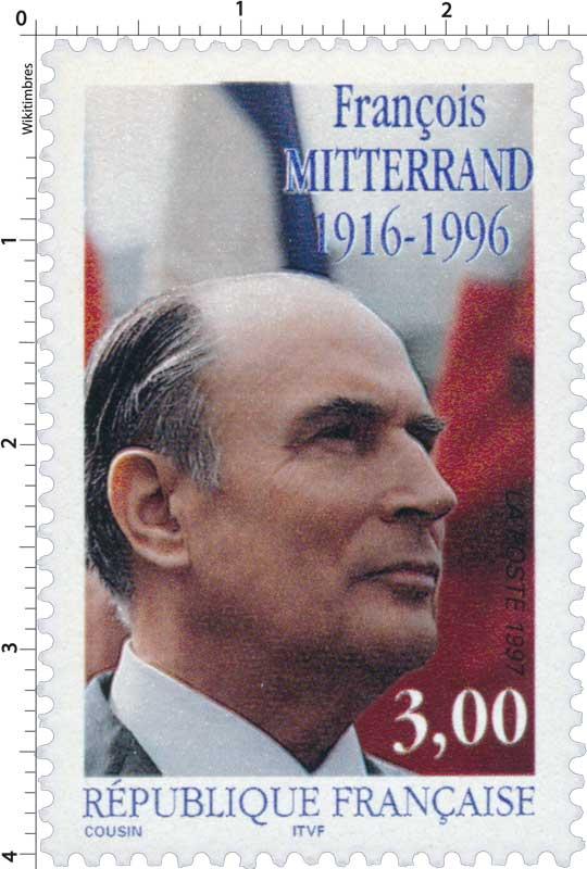 1997 FRANÇOIS MITTERRAND 1916-1996