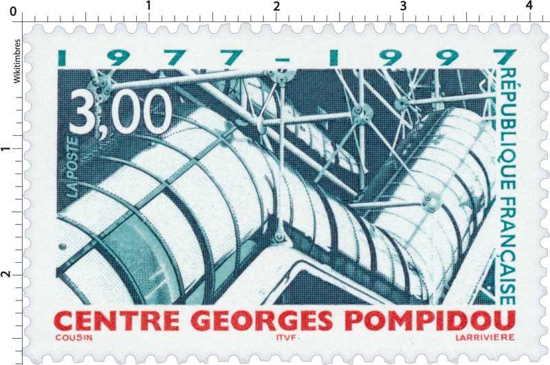 CENTRE GEORGES POMPIDOU 1977-1997