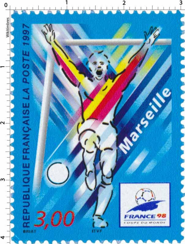 Timbre 1997 france 98 coupe du monde marseille wikitimbres - France 98 coupe du monde ...