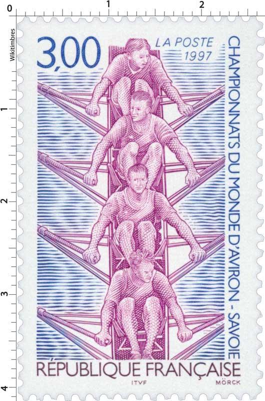 1997 CHAMPIONNATS DU MONDE D'AVIRON - SAVOIE