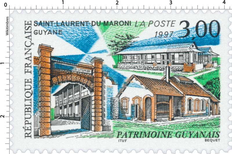 1997 SAINT-LAURENT-DU-MARONI GUYANE PATRIMOINE GUYANAIS