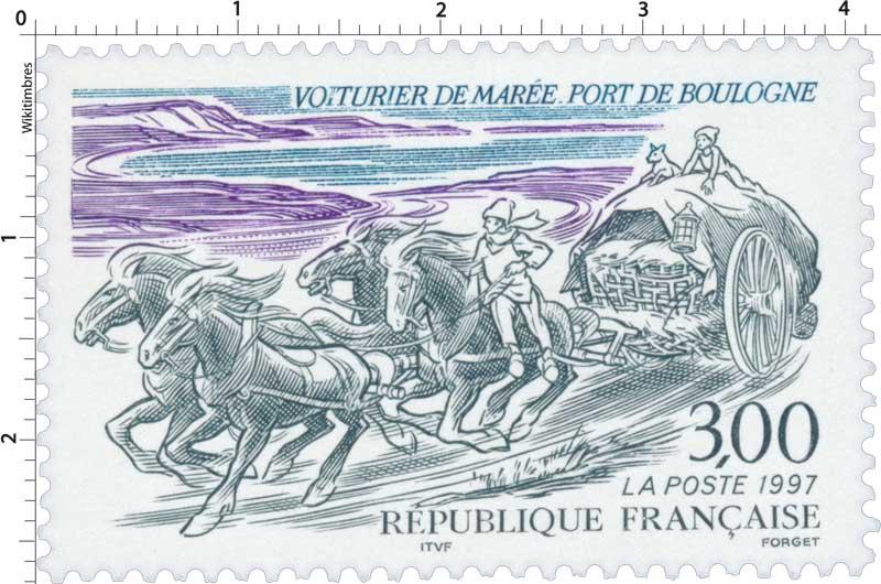 1997 VOITURIER DE MARÉE - PORT DE BOULOGNE