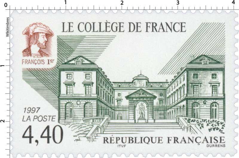1997 LE COLLÈGE DE FRANCE FRANÇOIS 1er