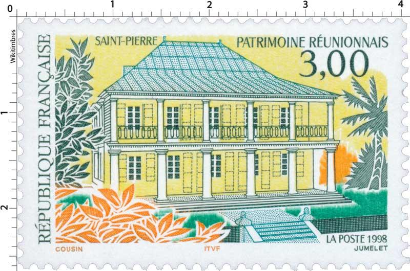 1998 SAINT-PIERRE PATRIMOINE RÉUNIONNAIS