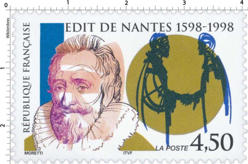 ÉDIT DE NANTES 1598-1998