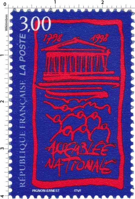 ASSEMBLÉE NATIONALE 1798-1998