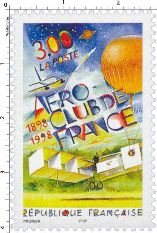 AÉRO-CLUB DE FRANCE 1898-1998