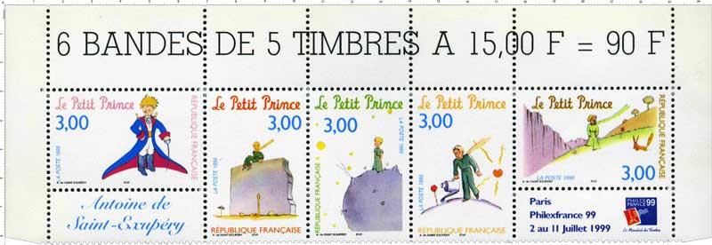 PHILEXFRANCE 99 1998 Le Petit Prince