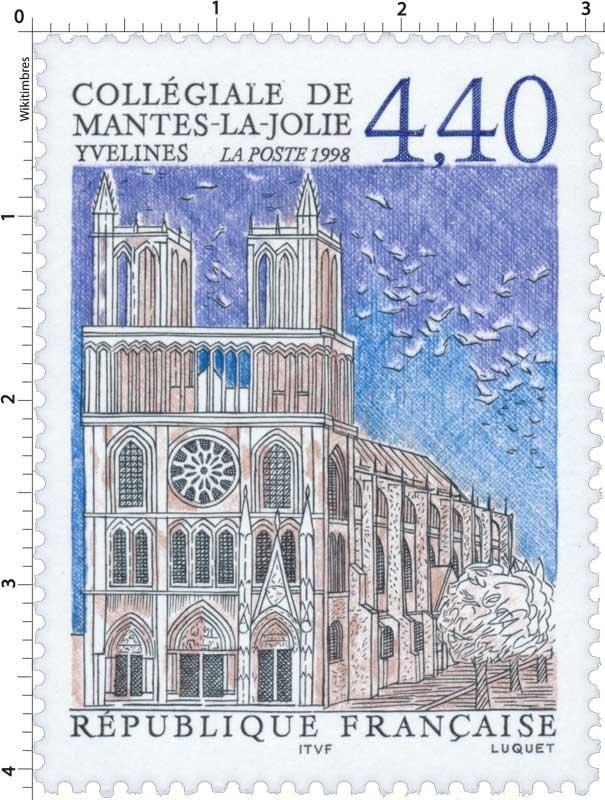 1998 COLLÉGIALE DE MANTES-LA-JOLIE YVELINES