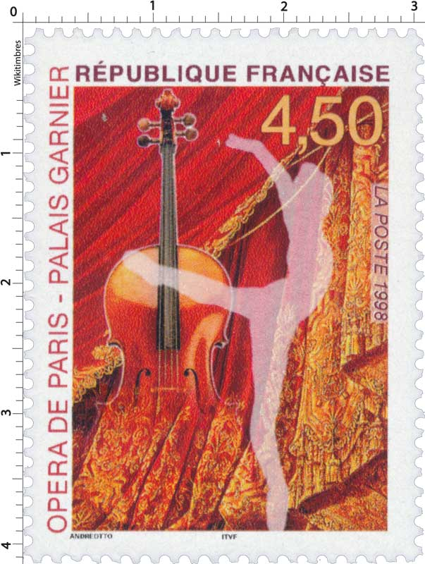 1998 OPÉRA DE PARIS - PALAIS GARNIER