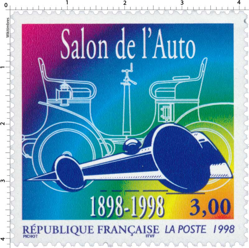 1998 Salon de l'Auto 1898-1998