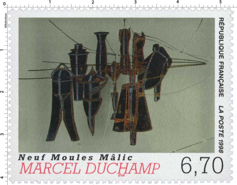 1998 MARCEL DUCHAMP Neuf Moules Mâlic