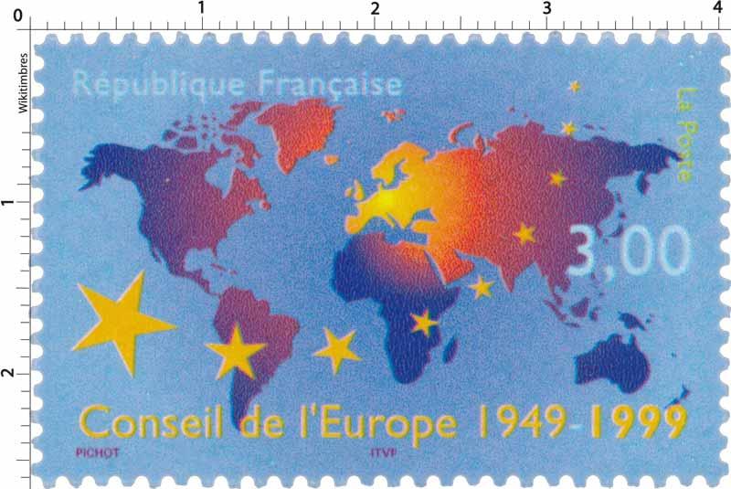 Conseil de l'Europe 1949-1999