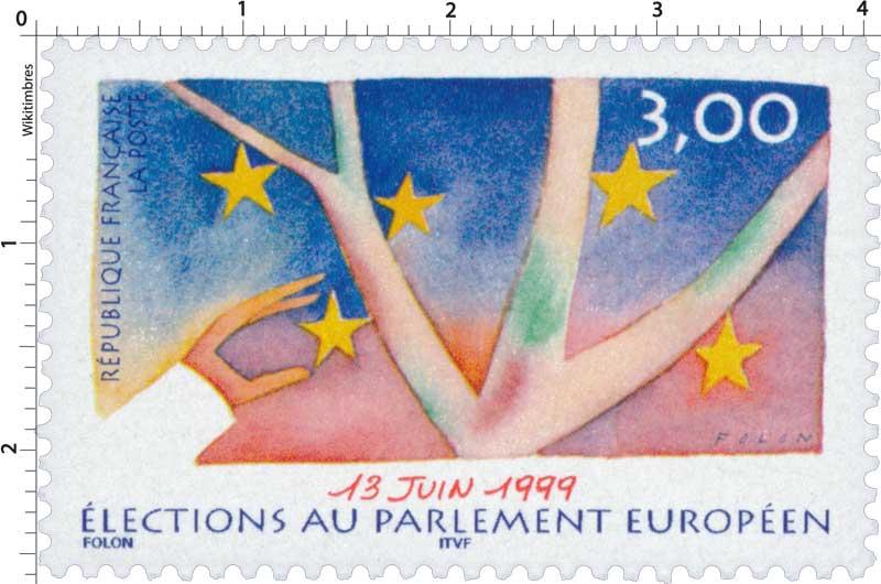 13 JUIN 1999 ÉLECTIONS AU PARLEMENT EUROPÉEN