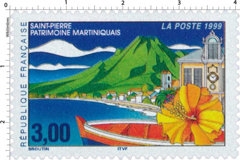 1999 SAINT-PIERRE PATRIMOINE MARTINIQUAIS