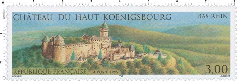 1999 CHÂTEAU DU HAUT-KŒNIGSBOURG BAS-RHIN