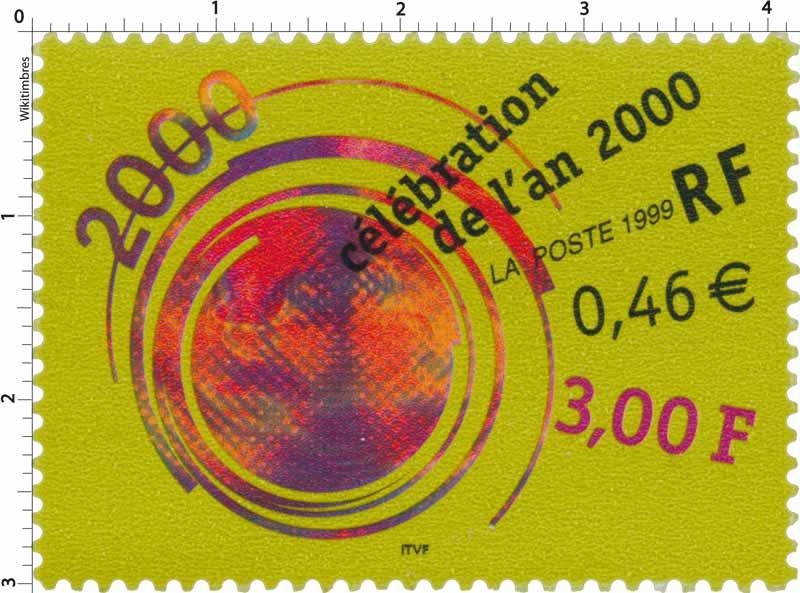 1999 Célébration de l'an 2000