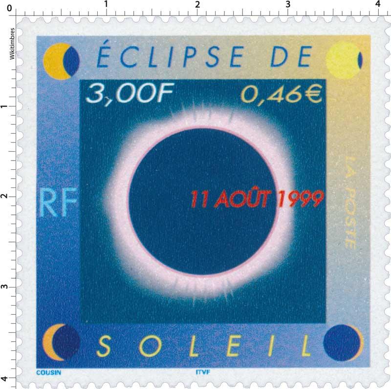 ÉCLIPSE DE SOLEIL 11 AOÛT 1999