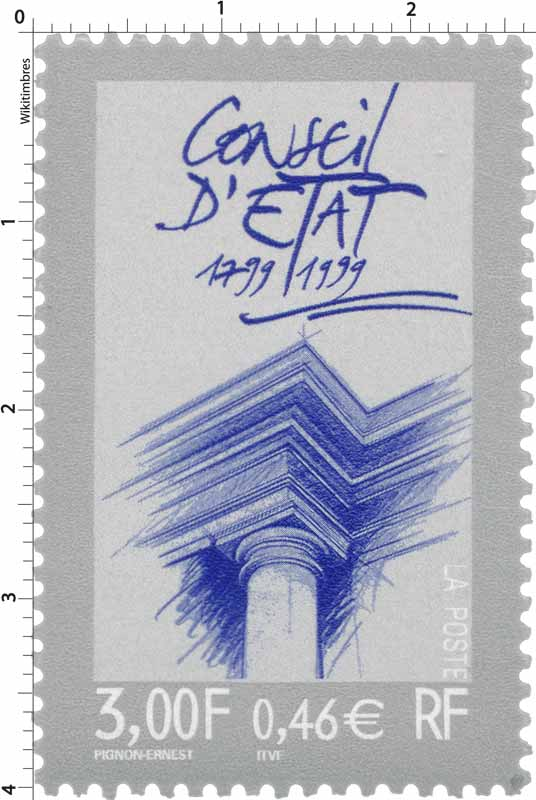 CONSEIL D'ÉTAT 1799-1999