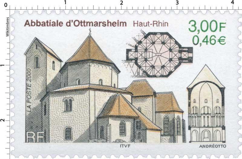 2000 Abbatiale d'Ottmarsheim Haut-Rhin
