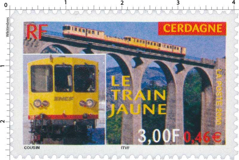 2000 LE TRAIN JAUNE CERDAGNE