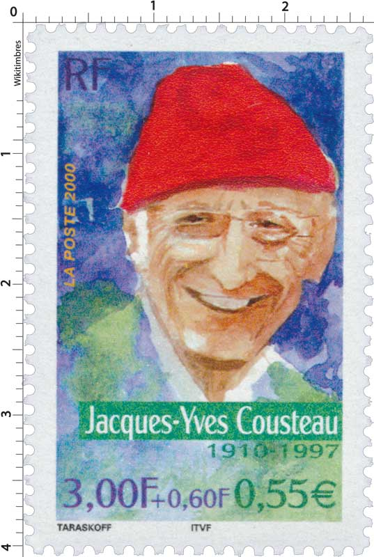 2000 Jacques-Yves Cousteau 1910-1997