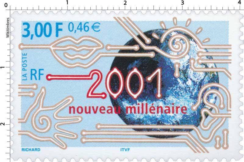 2001 nouveau millénaire