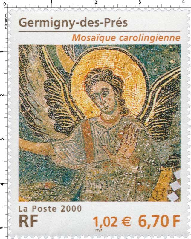 2000 Germigny-des-Prés Mosaïque carolingienne