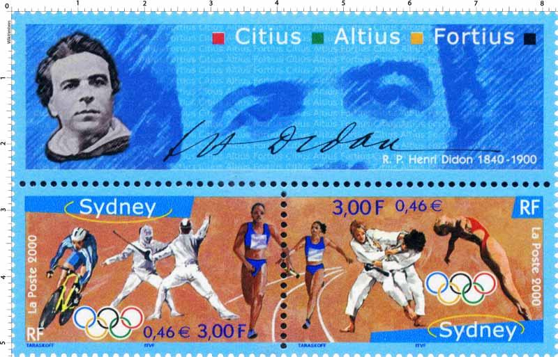 Sidney 2000 OLYMPHILEX