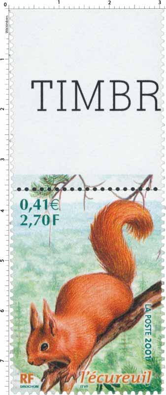 2001 l'écureuil