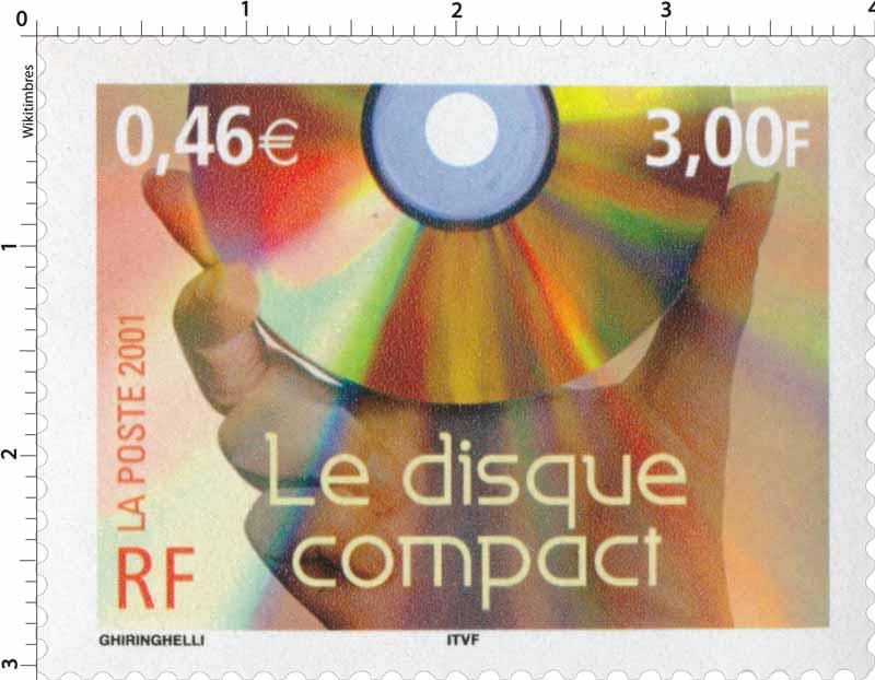 2001 Le disque compact