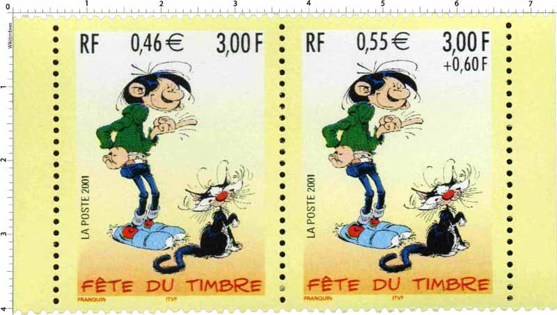 2001 FÊTE DU TIMBRE