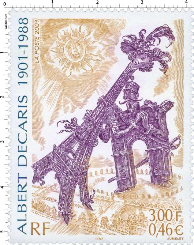 2001 ALBERT DECARIS 1901-1988