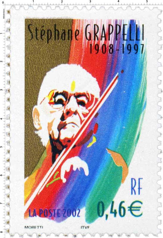 2002 Stéphane GRAPPELLI 1908-1997