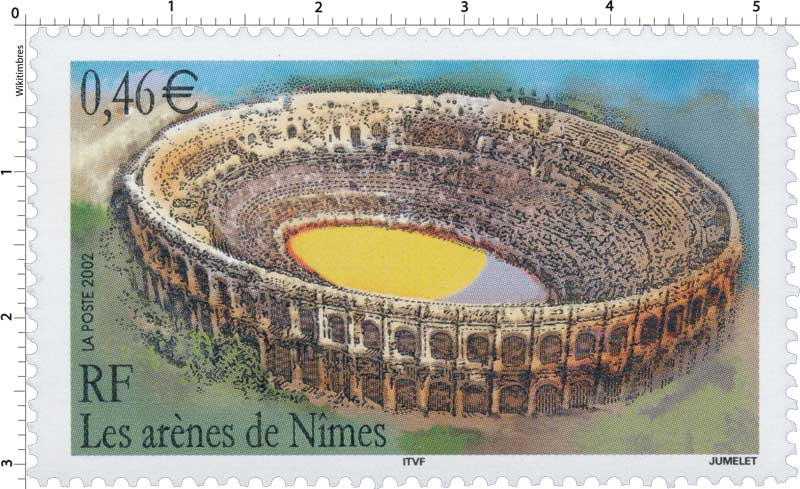 2002 Les arènes de Nîmes