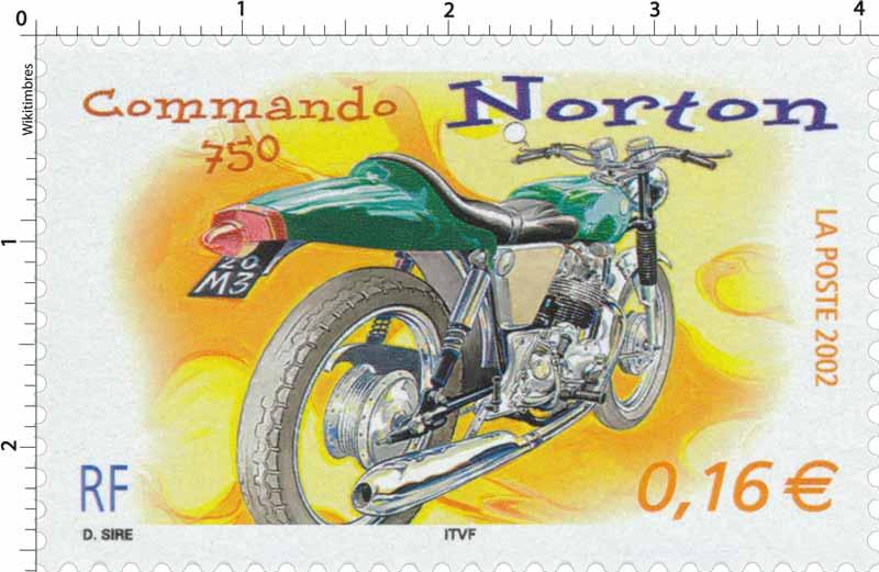 2002 Norton Commando 750