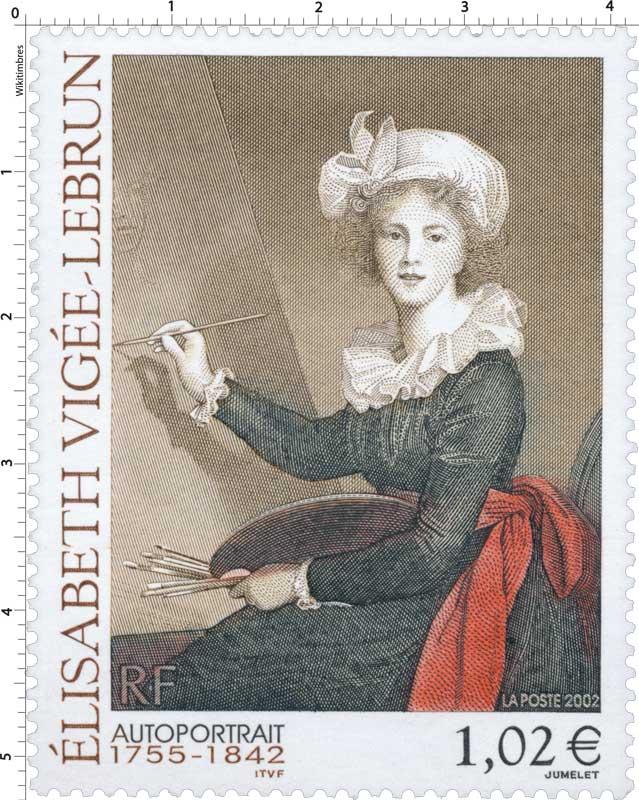 2002 ÉLISABETH VIGÉE-LEBRUN 1755-1842 AUTOPORTRAIT
