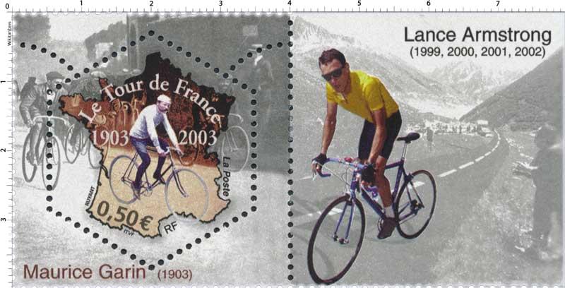 Le Tour de France 1903-2003 Maurice Garni 1903