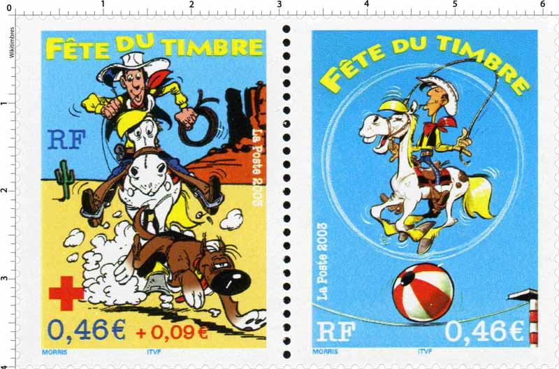 Fête du timbre 2003: la paire