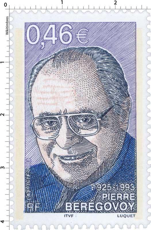 2003 PIERRE BÉRÉGOVOY 1925-1993