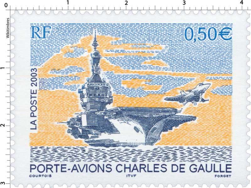 2003 PORTE-AVIONS CHARLES DE GAULLE