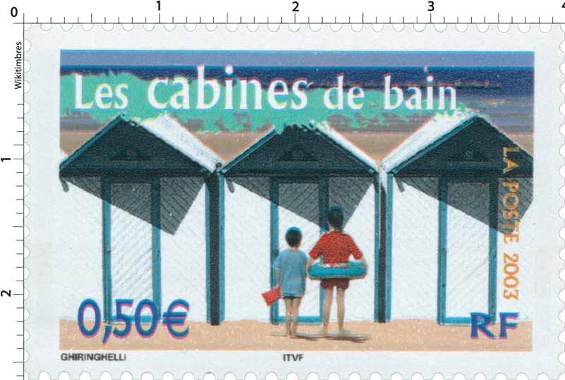 2003 Les cabines de bain