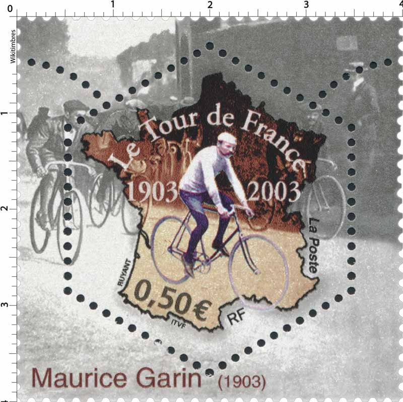 Le Tour de France 1903-2003 Maurice Garin 1903