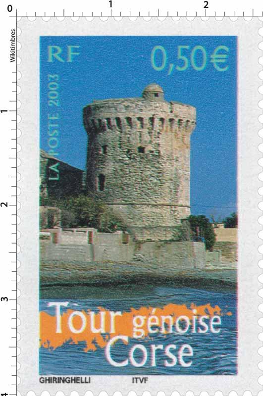 2003 Tour génoise Corse