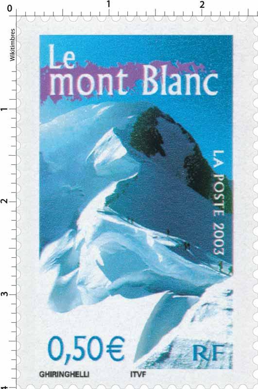 2003 Le mont Blanc
